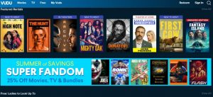 vudu LegallySite to Download Bollywood Movies in HD