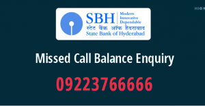 SBH Online Balance Enquiry Toll Free Number